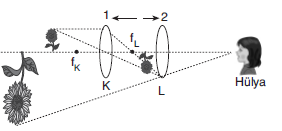 LYS Optik Prizma ve Mercekler Soruları Test 1